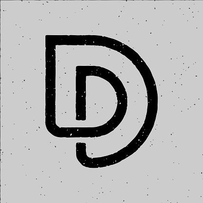 D alphabet Logo