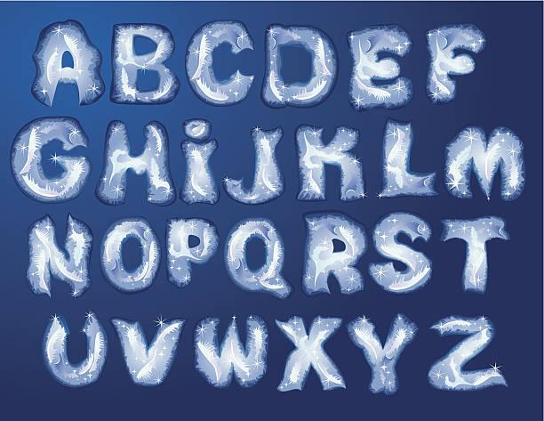 ilustrações de stock, clip art, desenhos animados e ícones de alfabeto merry natal e ano novo-letras - lian empty