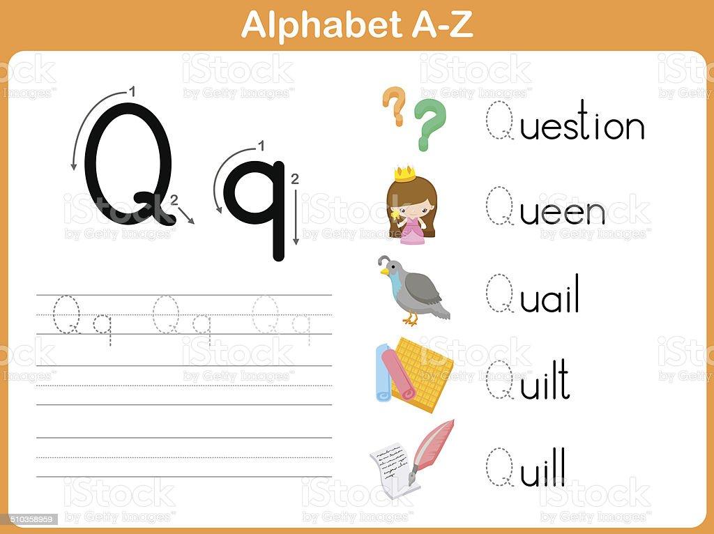 Printable Worksheets free alphabet tracing worksheets a to z : Alphabet Tracing Worksheet Writing Az Stock Vector Art & More ...