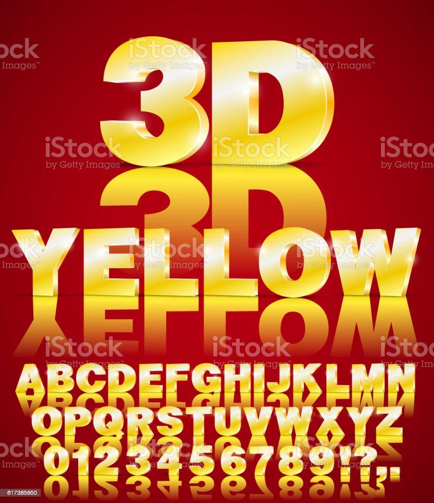 alphabet vector font vector art illustration