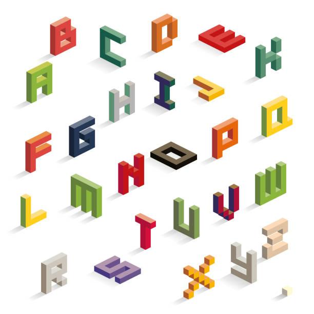 アルファベット - 大文字点のイラスト素材/クリップアート素材/マンガ素材/アイコン素材