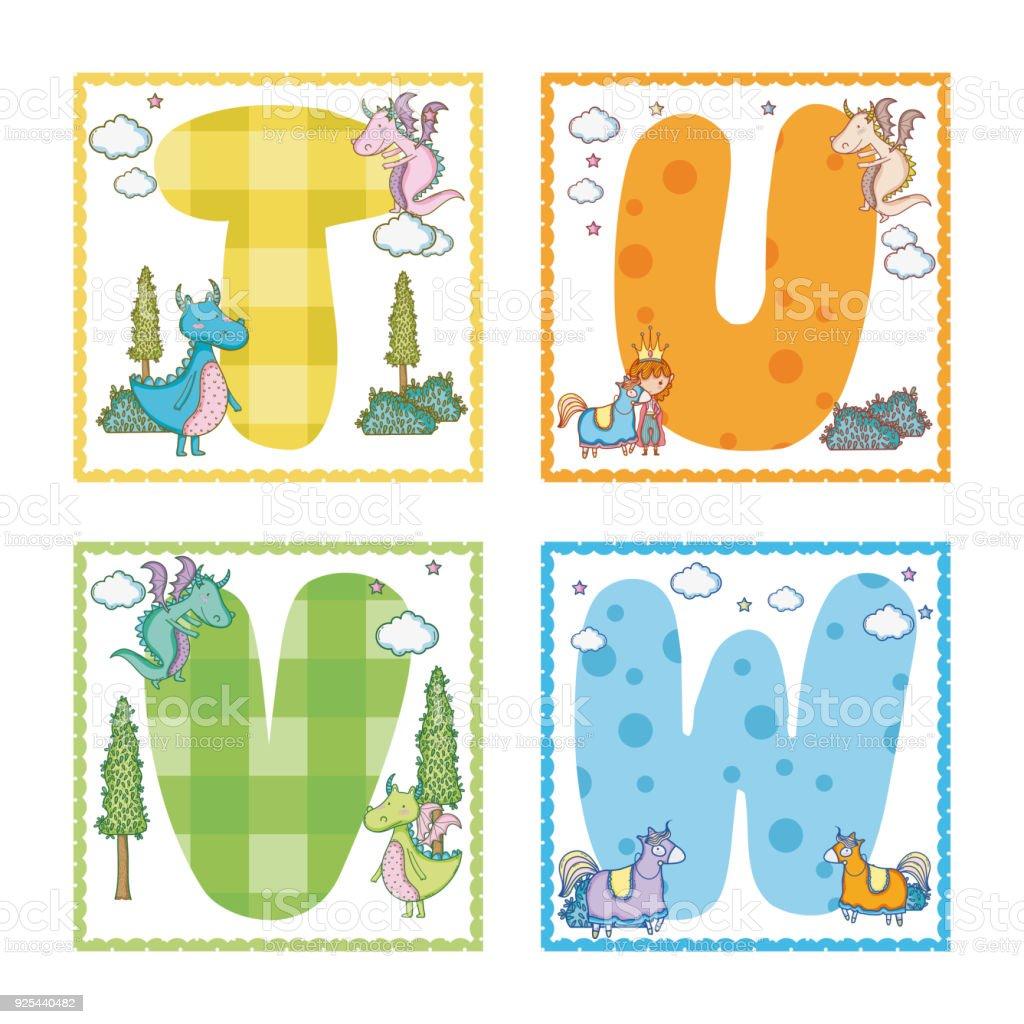 Alphabets letters for kids stock vector art more images of alphabets letters for kids royalty free alphabets letters for kids stock vector art amp gumiabroncs Images