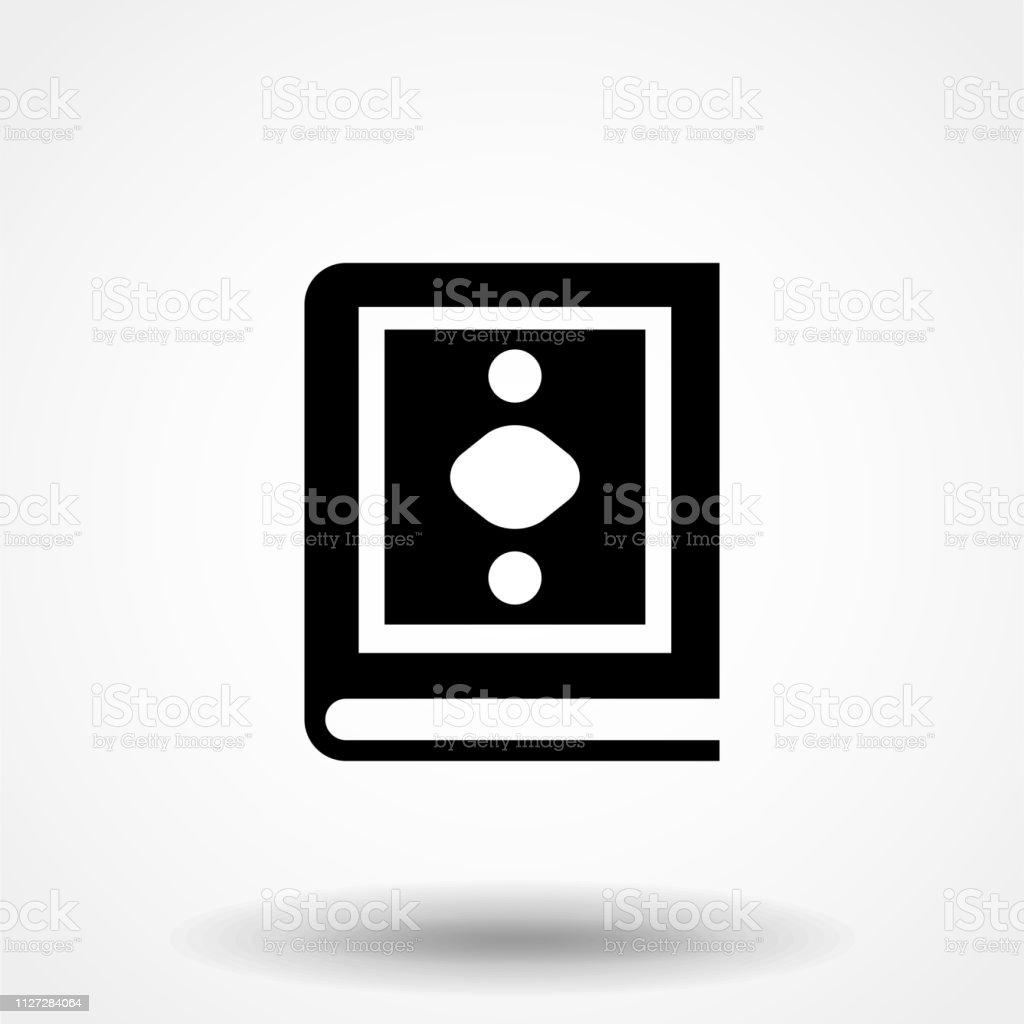 Al-quran flat vector icon , moslem quran book vector