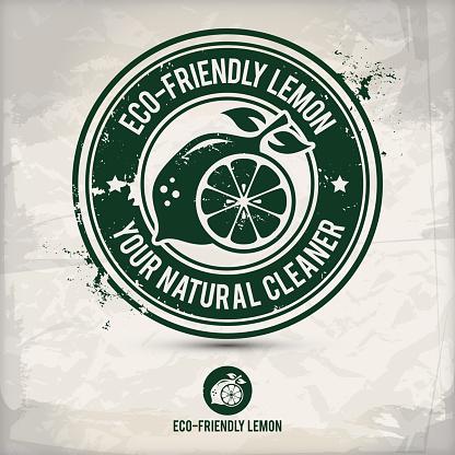 alternative eco friendly lemon stamp
