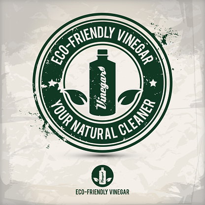 alternative eco friendly vinegar stamp