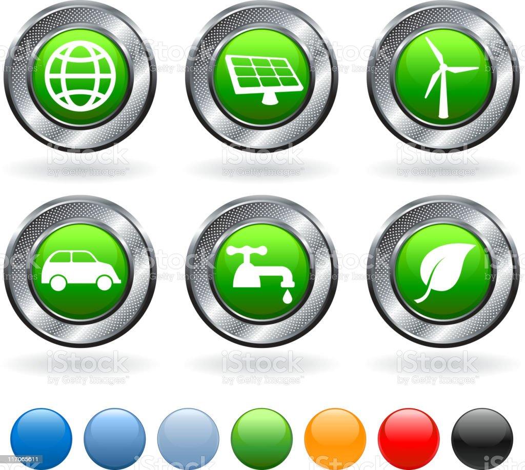Alternative Energy royalty free vector icon set royalty-free stock vector art