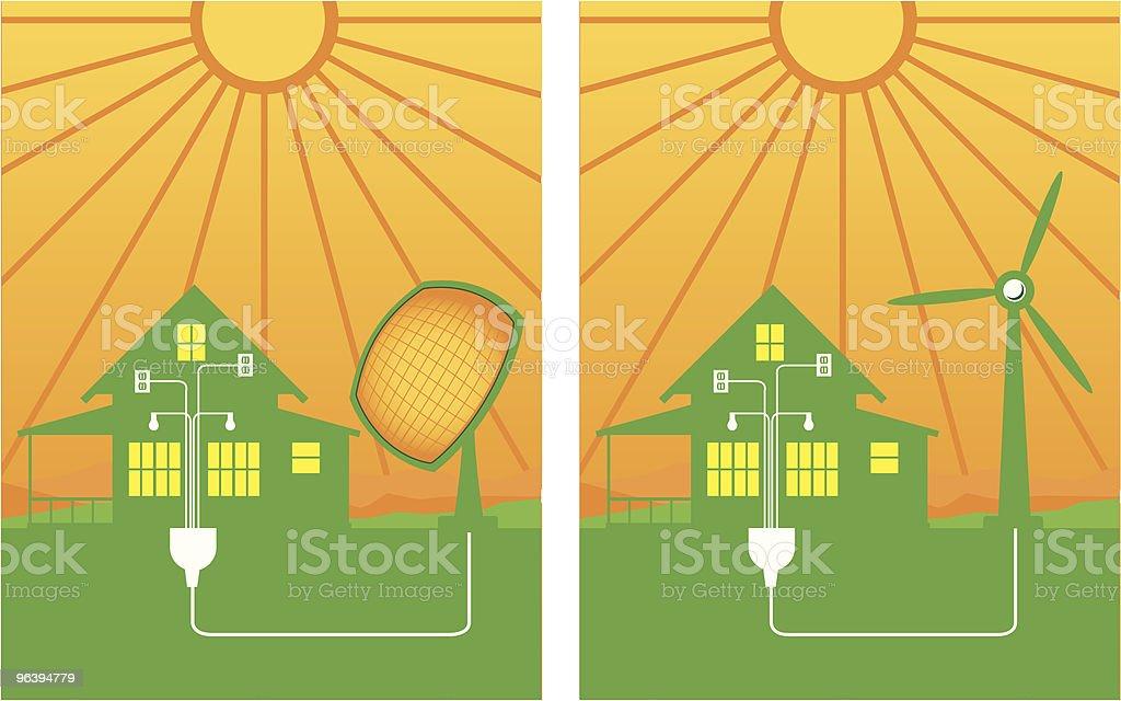 Alternative Energy - Royalty-free Choice stock vector