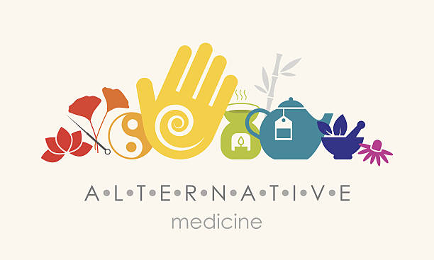 alternative medizin - - alternative medizin stock-grafiken, -clipart, -cartoons und -symbole