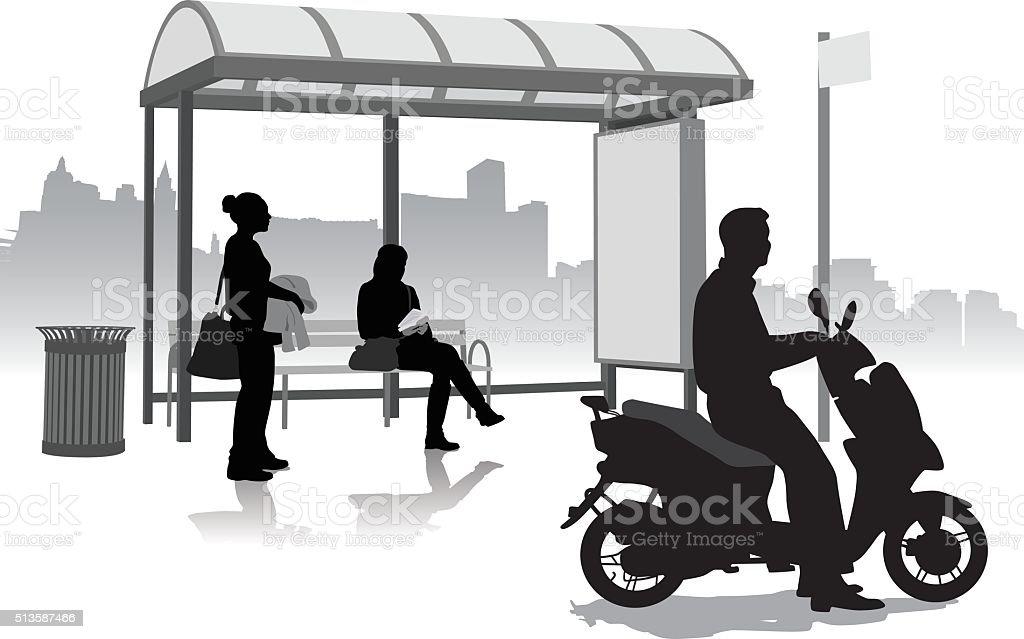 AlternativeScooterTransport - Illustration vectorielle
