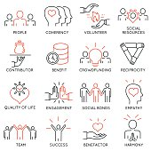 Altruism, Benevolence Icons - part 2