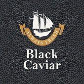 always fresh black caviar