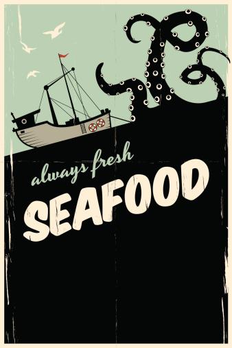 always fresh seafood