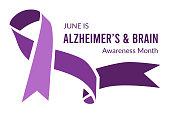 istock Alzheimer's and Brain Awareness Month. Vector illustration 1316627218