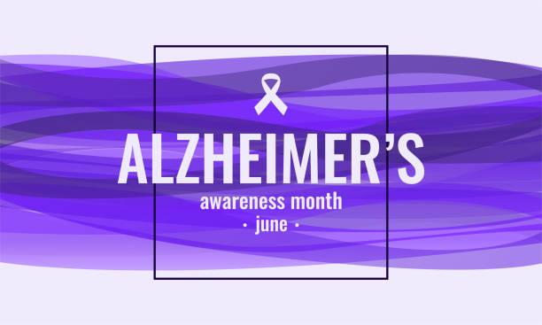 ilustrações de stock, clip art, desenhos animados e ícones de alzheimer's awareness - alzheimer