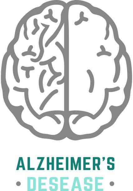 ilustrações de stock, clip art, desenhos animados e ícones de alzheimers ícone vector - alzheimer