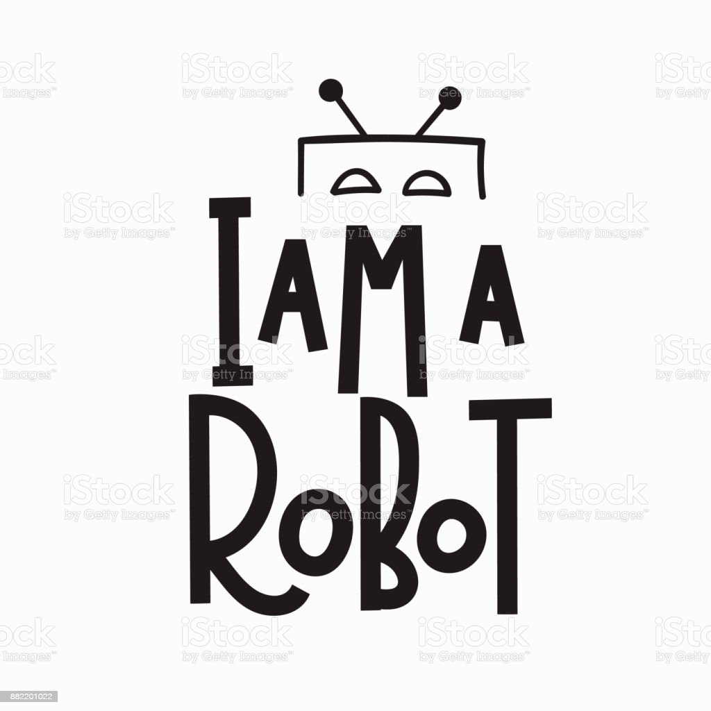 Royalty Free I Robot Clip Art Vector Images Illustrations Istock