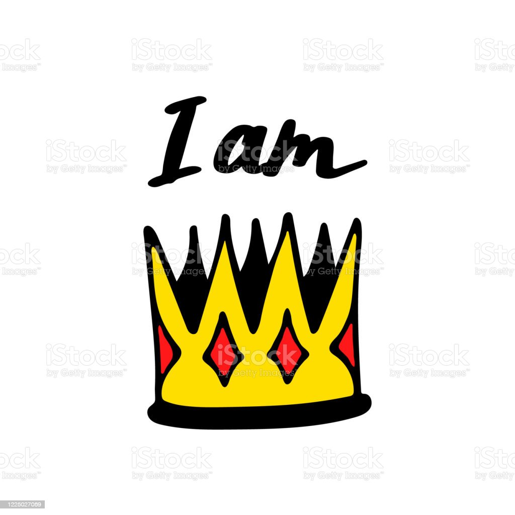 I Am King Print With Crown Simple Poster Design Cartoon Lettering Vector Illustraton Stock Illustration Download Image Now Istock Available in ai/eps and svg formats to fit the needs of your project. i am king print with crown simple poster design cartoon lettering vector illustraton stock illustration download image now istock