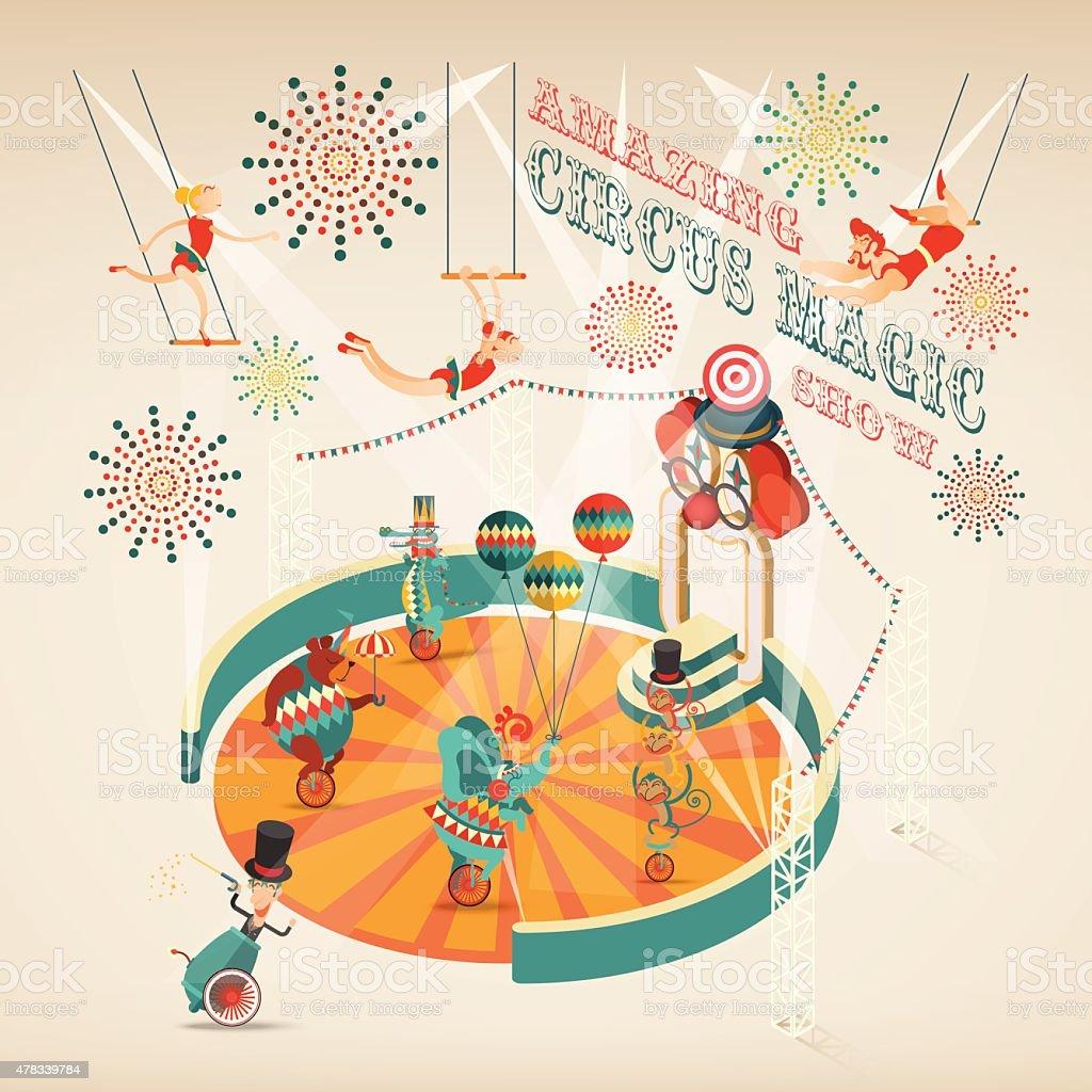 Amazing Circus Magic Show