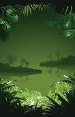 Taloid vector amazon jungle