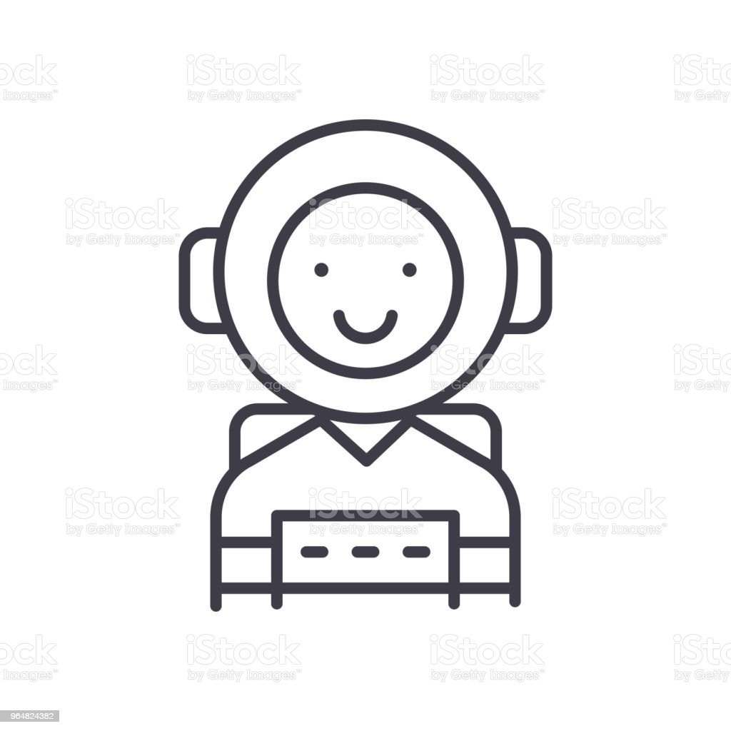 Ambitious personality black icon concept. Ambitious personality flat  vector symbol, sign, illustration. royalty-free ambitious personality black icon concept ambitious personality flat vector symbol sign illustration stock vector art & more images of adulation