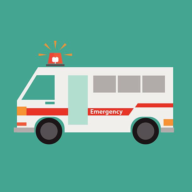 救急車車のアイコン - 救急救命士点のイラスト素材/クリップアート素材/マンガ素材/アイコン素材