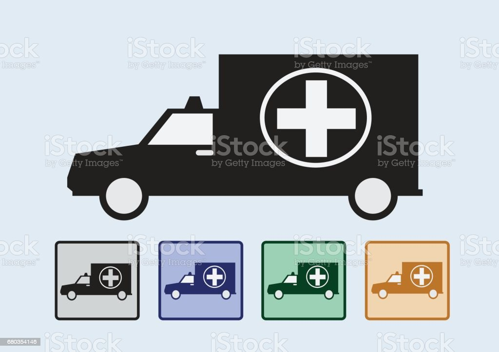 ambulance car sign medical royalty-free ambulance car sign medical stock vector art & more images of ambulance