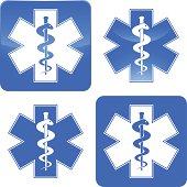 istock Ambulance symbol 165690371