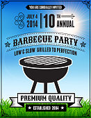 American 4th of July Barbecue Party