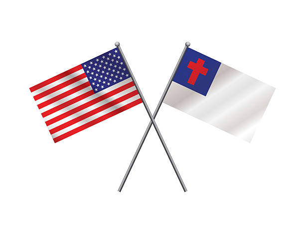 Best Christian Flag Illustrations, Royalty-Free Vector ...