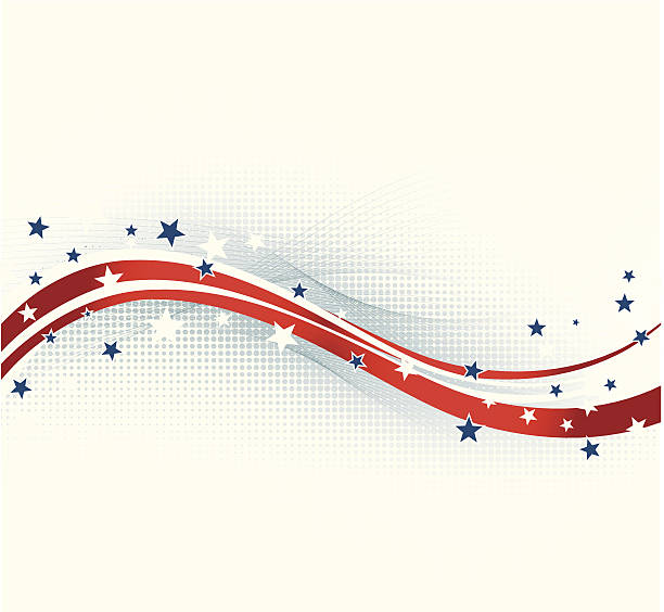 American background Vector illustration American background. EPS10. Contains transparency. presidential candidate stock illustrations