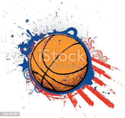 istock American Basketball 165487687