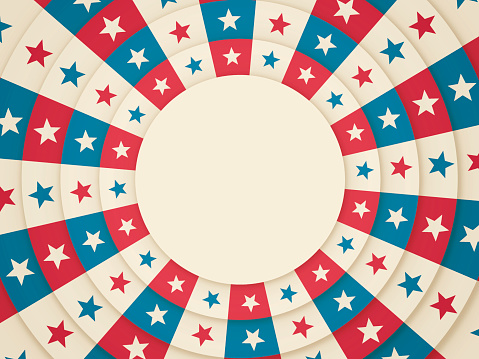 American Circle Background