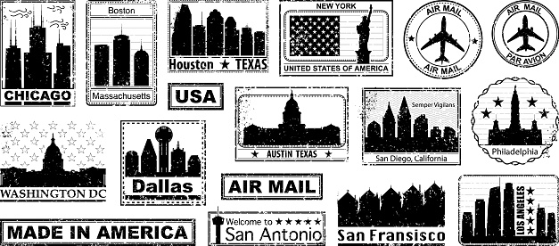 American City Stamps