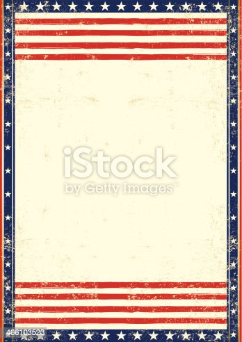 An american background for you with a large empty space for your text