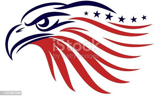 american eagle conceptual symbol
