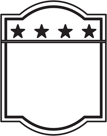american emblem isolated icon