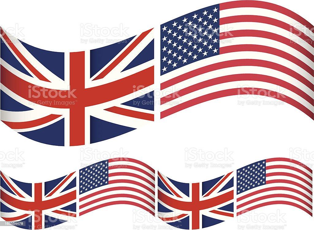 Znalezione obrazy dla zapytania flaga angielska i amerykanska zdjecia