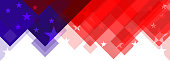 american flag abstract background design