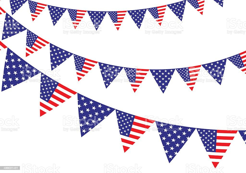 American flag bunting royalty-free american flag bunting stock vector art & more images of american culture