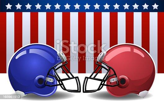 istock American flag helmet 165961513