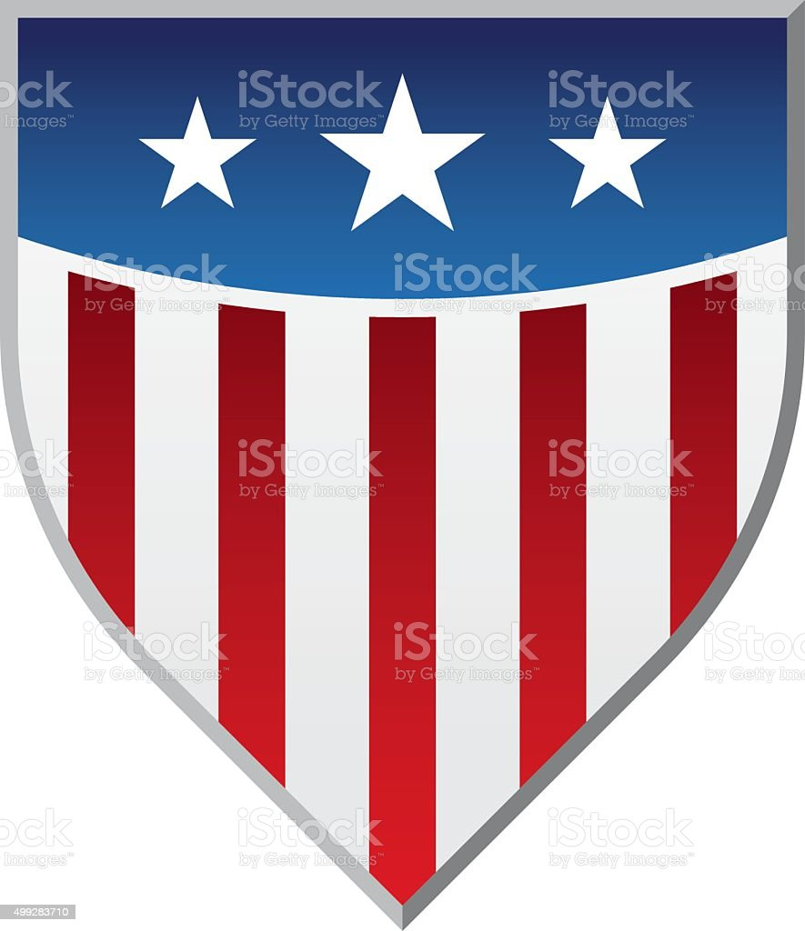 American Flag Shield royalty-free american flag shield stock vector art & more images of 2015