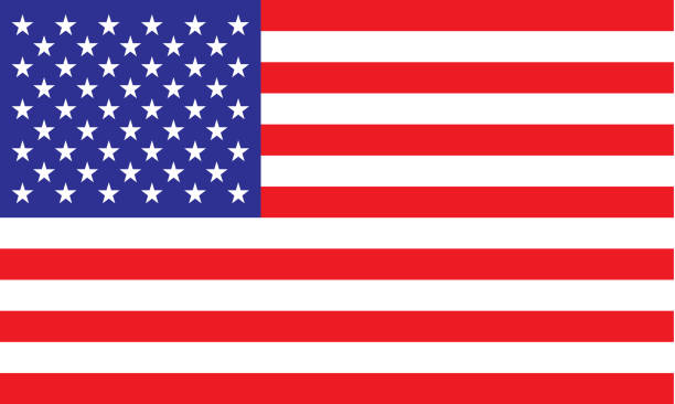 american flag - american flag stock illustrations