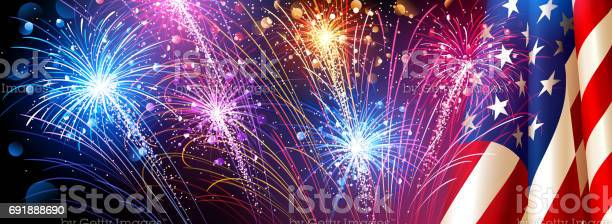 American flag with fireworks vector vector id691888690?b=1&k=6&m=691888690&s=612x612&h=betq5avq84uiearol0biosxtdz3z j vu wf4egx64i=