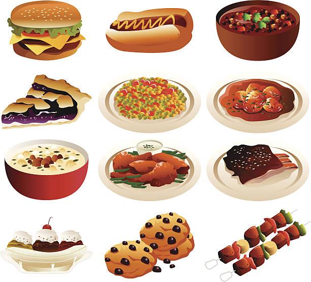 royalty free bowl of chili clip art vector images illustrations