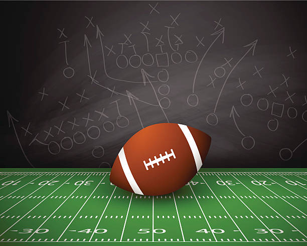 American Football Graphic Art Backgrounds