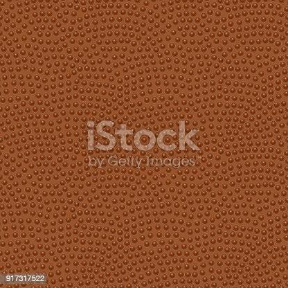 American football ball. Seamless texture, vector illustration