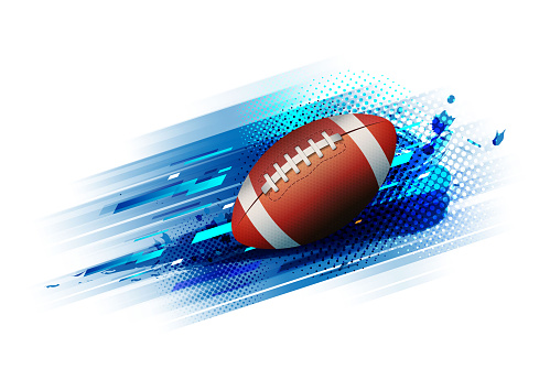 american football competition tournament template poster or banner vector design.