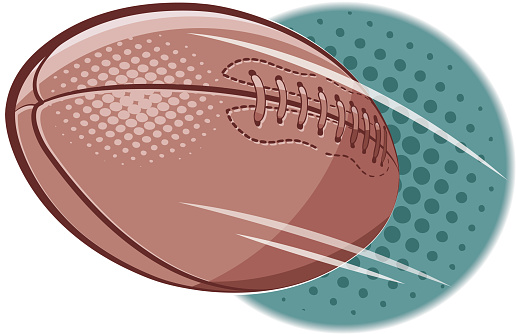 American football doodle