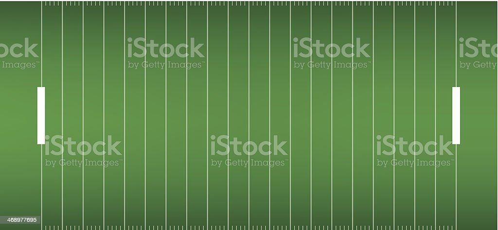 american football field background in view from above