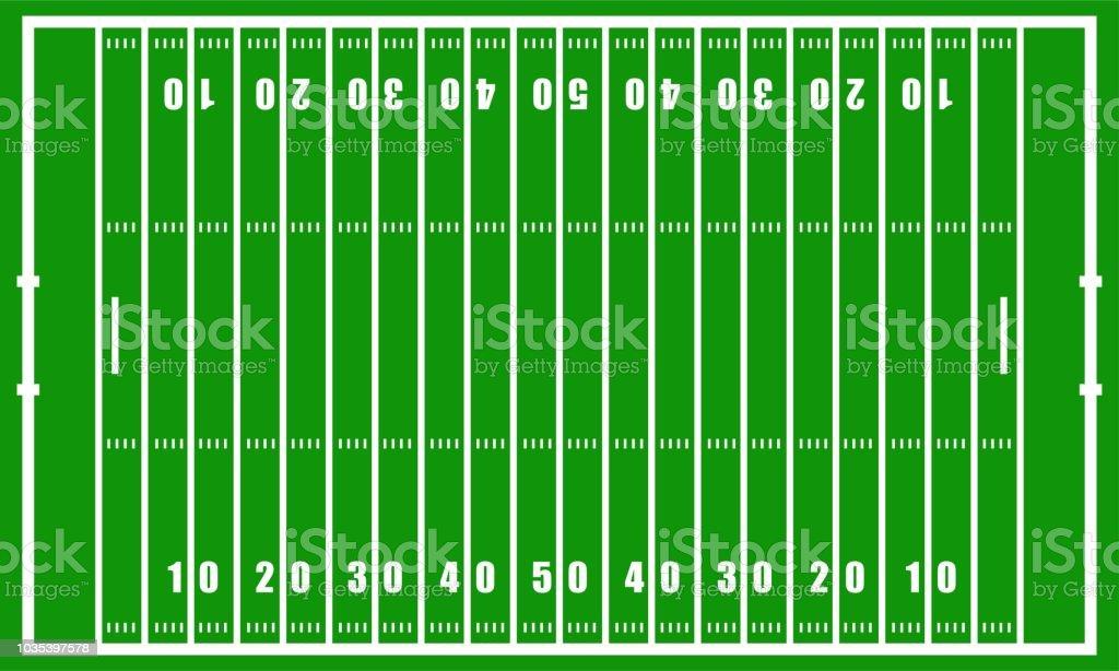 American football field stadium